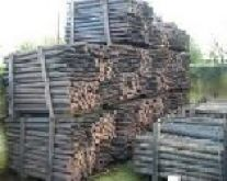 CREOSOTED POSTS 5.5 ft x 3-3.5 inch (BUNDLE 60)