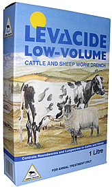 LEVACIDE LOW VOLUME DRENCH 2.5 LITRE