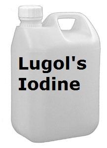 LUGOLS IODINE 2.5 LITRE