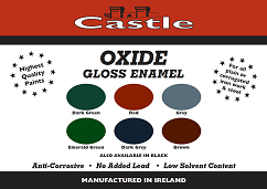 OXIDE PAINT CHART COLOURS