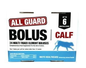 ALL GUARD CALF BOLUS 24PK