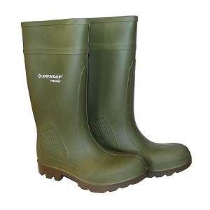 DUNLOP PUROFORT WELLINGTONS - STEEL TOE