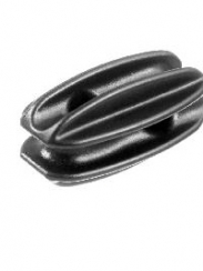 LARGE EGG INSULATORS - BLACK (BAG 10)