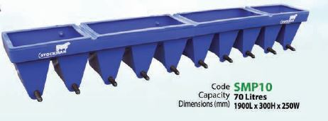 STOCKMAN COMPARTMENT FEEDER 10 TEAT